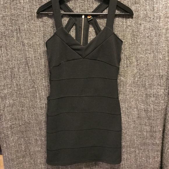 Dresses Little Black Dress With Open Back Poshmark
